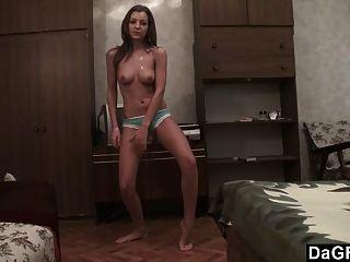 Cinta de audición expuesta: películas de colegio sexy striptease