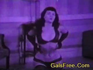 Porno de la vendimiaBetty página oldschool