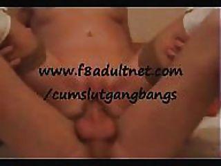 Gangbang milf consiguiéndolo en todos los agujeros