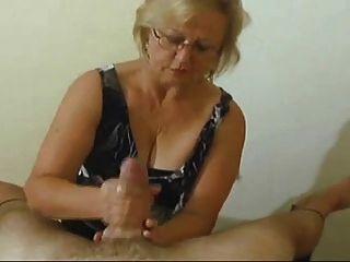 Mamada handjob # 1 (final feliz)