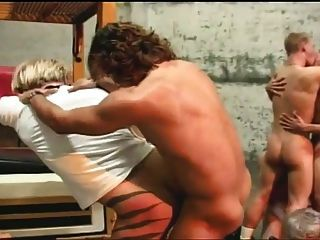 Orgía gay mierda acción para estos chicos calientes