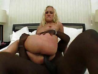 Rubia maxine toma un bbc en su asno sexy # 000nt