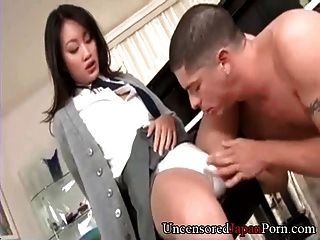 Afeitada niña japonesa sin censura