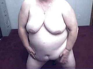 Abuelita gorda en una leva r20