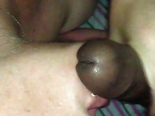 Mujer blanca handjob \u0026 cuminmouth bbc