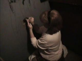 Mamá del fútbol en el gloryhole