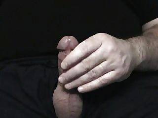 Jerking de mi cox pene pequeño coño buen tiro cum tan divertido