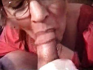 Cabeza de abuelita # 5 (fumar) cum para el profesor