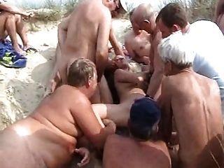 Bukkake playa
