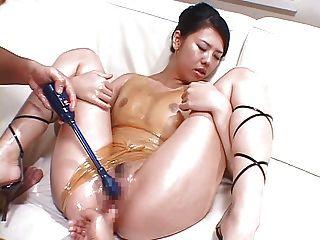 Juego de aceite con ropa de goma 02