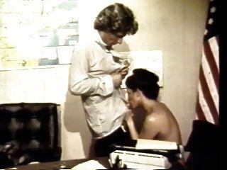 Vintage: sexo clásico de la oficina