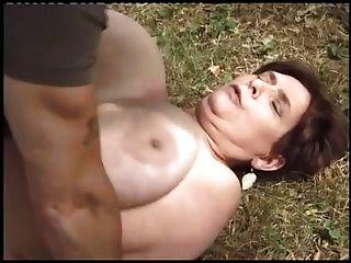 Creampie anal bbw maduro