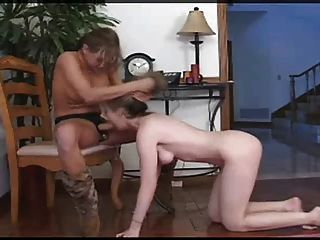 Petite cutie lesbian strapon anal punish