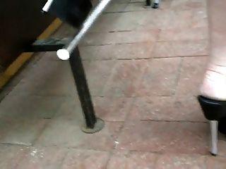 Correas de tacón alto de plataforma de 7 pulgadas