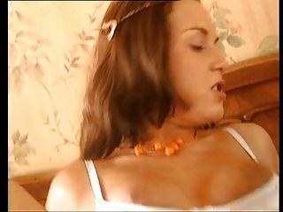 Nerd alemán folla una sexy puta euro # 2