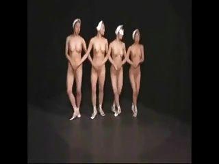 Bailarines de ballet desnudos 1