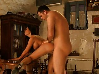 Angelika negro en caliente escena anal
