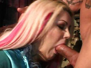Pantimedias anal maduro