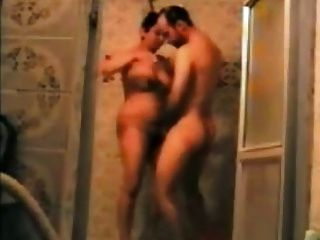Persa, pareja, teniendo, ducha, (zano, mardeh, irani, hamam)