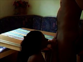 Amateur morena chick perforado en casa real