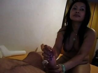 Amateur asian da nice pov hj a gordo polla