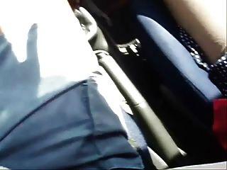 Sexo compilación con pies divinos en mi coche !!!!!