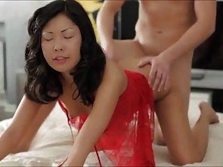Caliente anal asiático