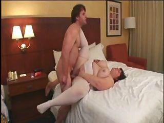 Caliente mierda # 115 (busty big butt ssbbw maduro en la cama del hotel)