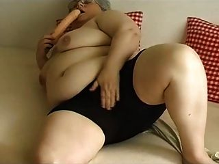 Masturbación abuela bbw