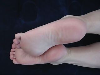 Suelas y dedos de los pies