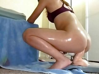 Kinky asiáticos paseos dildo anal enorme!Pt _ {2} (gzh)