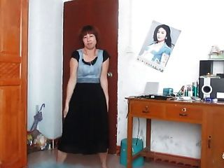 Baile mujer china antigua