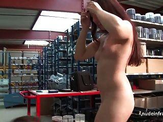 Bastante joven francesa puta profunda anal follada y cum a la boca
