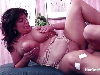 Mamá y papá alemanes en casting porno por menos dinero