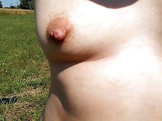 Peludo maduro al aire libre
