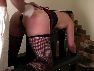 Bdsm anal esclavo doble entrenamiento de la milita de sol littel