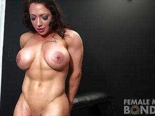 Brandimae y dani andrews muscle lesbian bondage