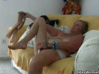 Mamá está frigging el músculo del amor