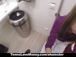Teenslovemoney nena rusa folla desconocido para el dinero