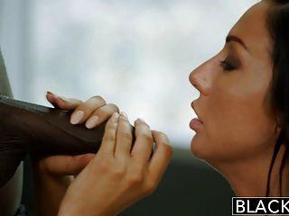 Blacked new york escort tiffany brookes obtiene facial de grande