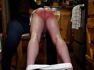 Fm otk hairbrush spanking palmada fuertemente