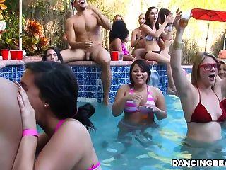 Fiesta de la piscina del bachelorette