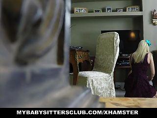 Mybabysittersclub babysitter ladrón es atrapado y jodido