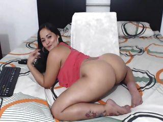 Latina colombiana sexy culo perfecto perfecto!