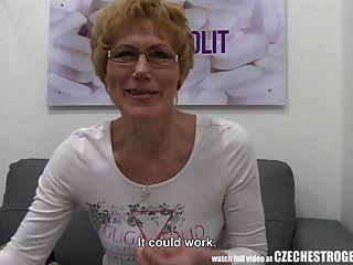 Madura, checa, mujer, chorros, estrogenolit