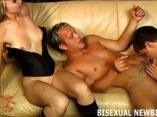 Prometo que tu primer trío bisexual será asombroso