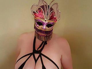 Traje de máscara lateshay mardi gra máscara