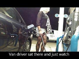 Nueva gasolinera de falda de gasolina