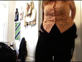 Sexy bbw sexy cambiando de ropa