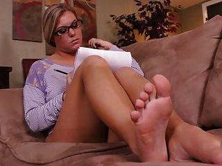 Déjame solo pov joi pies pie de dominación fetiche de pie